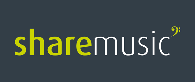 Share Music - great background accompaniment for reading, writing or entertaining.